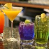 Colourful cocktail making class